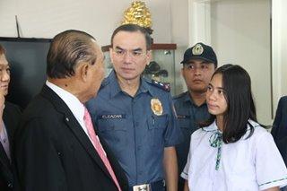 Gamutan, pag-aaral alok ng ospital sa estudyanteng 'inampon' ng mga pulis