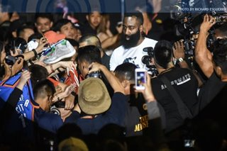 In eyes of Pinoy fans, James Harden is MVP