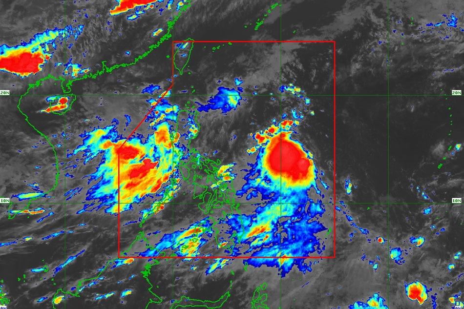 PAGASA: LPA off Catanduanes to develop into a storm Sunday 1