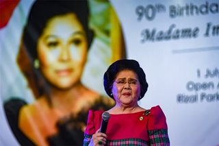Imelda celebrates 90th birthday
