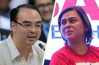 Sara Duterte itinangging may galit siya kay Cayetano