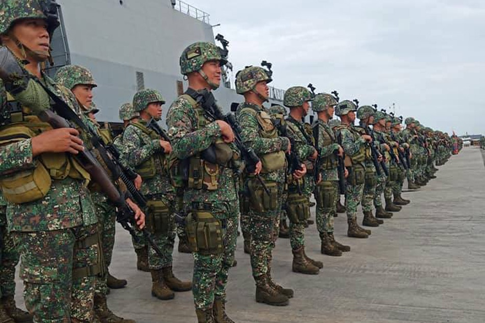 Marine soldiers deployed to Sulu after deadly bombing