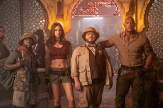 WATCH: The game is busted in 'Jumanji' sequel