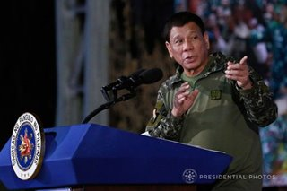 Military loyal to flag, constitution, says spox after Duterte's anti-coup plea