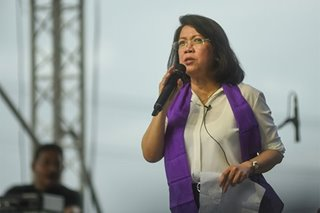 Sereno: Duterte destroying institutions that make PH a democracy