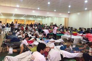 ABS-CBN Lingkod Kapamilya holds blood drive in Carmona, Cavite