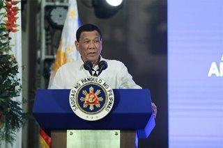 Duterte hinamon ang Amerika na magdeklara ng giyera sa China