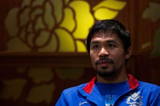 WATCH: Pacquiao meets young cancer-survivor