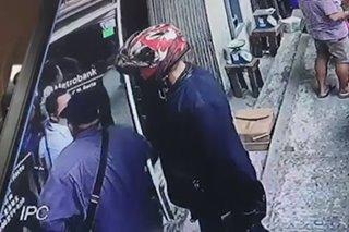 Inside job tinitingnan anggulo sa pagnanakaw sa bangko sa Binondo