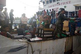 Smuggled cigarettes worth P1M seized in Zamboanga