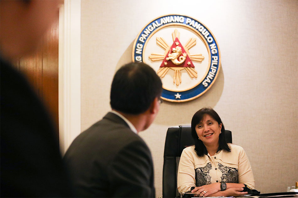 Palace distances from Robredo impeachment talk