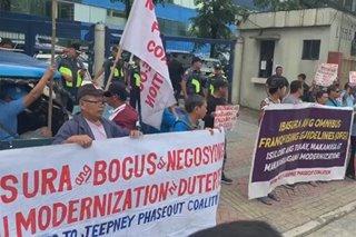 Transport groups sanib-puwersa sa protesta vs modernization