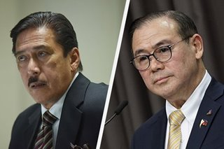 Locsin asks Sotto to decriminalize libel; Sotto says lying found in the 10 Commandments