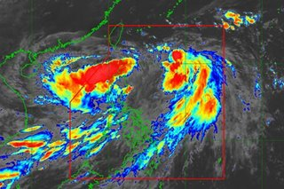 New LPA spotted off Laoag; Falcon slows down: PAGASA