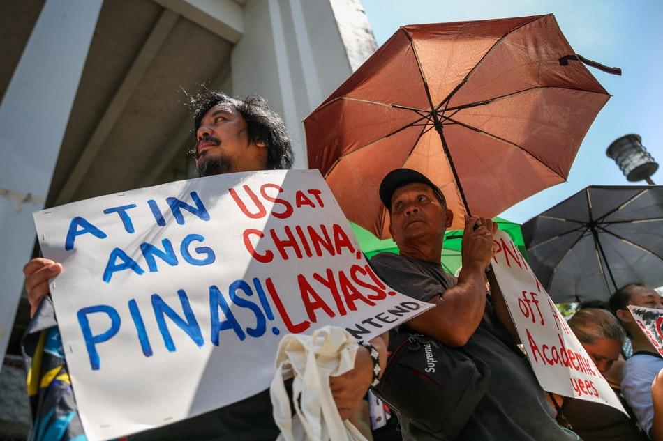 Pre-SONA protest