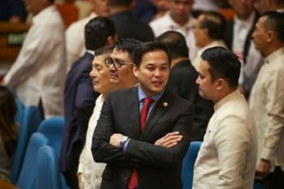 Velasco: 'Anything that can unite the House, I'm agreeable to that'