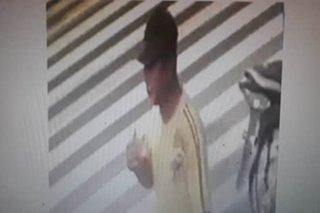 Suspek sa pamamaril sa Indian national sa CamSur, nakunan sa CCTV