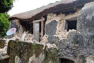 Bad weather delays delivery of construction materials to quake-hit Batanes