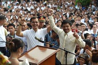 Pacquiao and Isko