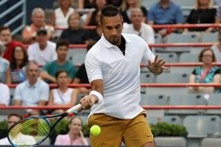 Tennis: Kyrgios falls at first hurdle in Montreal