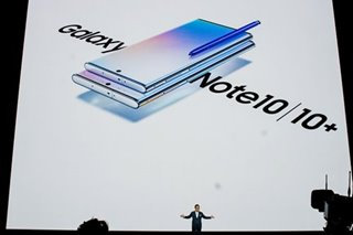 FIRST LOOK: Samsung Galaxy Note 10 is supersized, comes in 2 models