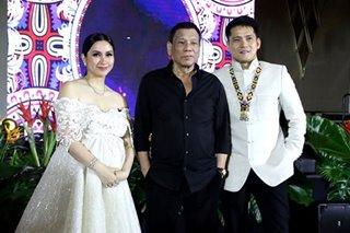 LOOK: Duterte attends Mariel Rodriguez's birthday bash