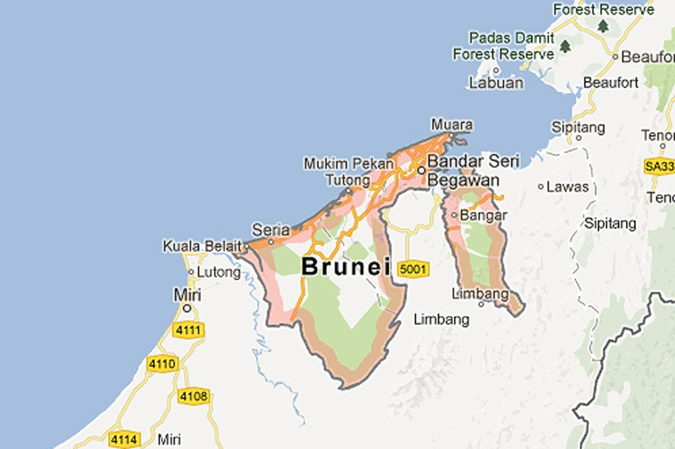 Vessel carrying 7 Filipinos capsizes off Brunei