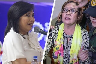 Robredo hopes De Lima cleared of drug charges soon