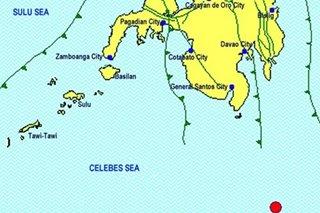 Quake shakes Davao Occidental; no damage reported