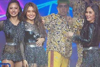 WATCH: Kathryn, Kim, Maja sizzle in 'ASAP' number