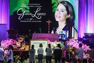 'True warrior, selfless': Senate honors Gina Lopez