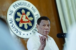 Duterte wants unreturned money for unaired ads given to charity
