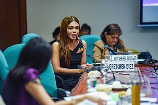 Trans woman Gretchen Diez positive about passage of SOGIE Bill
