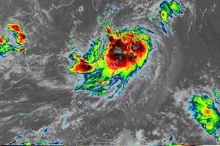 Ineng intensifies into severe tropical storm
