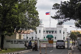 Senators back justice dep't on suspending GCTA processing