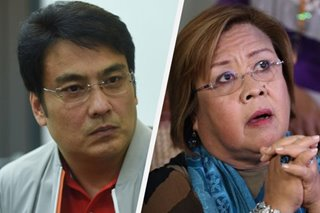 'Sense of entitlement': Bong blasts push to allow De Lima to join Senate sessions