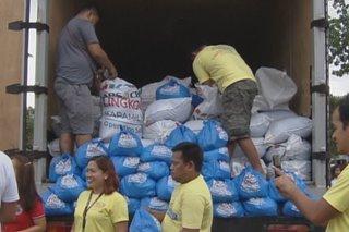 Mga nasalanta ng Ineng sa Ilocos Norte hinatiran ng tulong