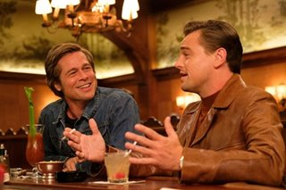 Brad Pitt wins best supporting actor Oscar for 'Once Upon a Time...'