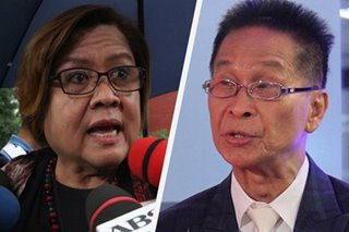 'Sila ang pumalpak': De Lima says Duterte admin, not Aquino's, at fault for GCTA mess