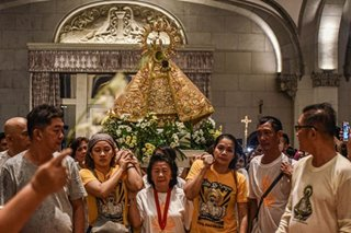 Naga to Manila: Procession for Our Lady of Penafrancia