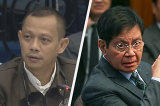 Lacson sa BuCor legal chief: Nagdodroga ka ba?
