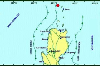 Magnitude 4.8 quake strikes off Batanes