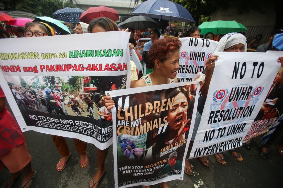 League of Parents vs Kabataan