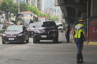 Left-turn ban sa EDSA-Santolan aalisin tuwing rush hour: HPG