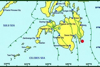 Magnitude 5.8 quake hits Davao Oriental; aftershocks expected