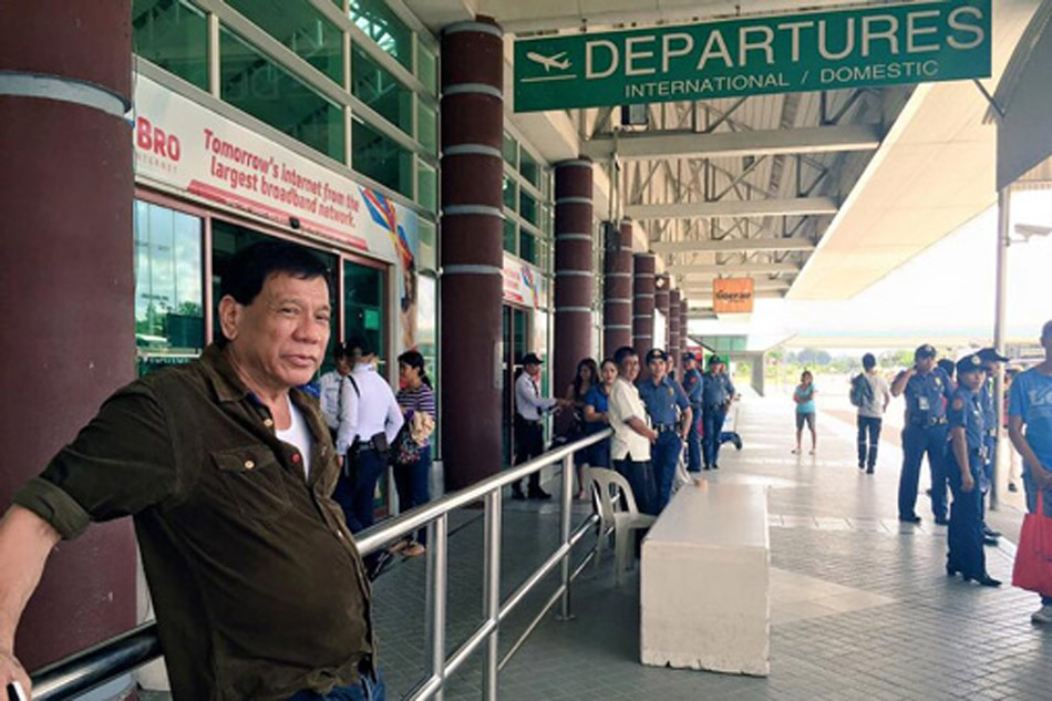 Duterte OKs law creating Davao airport authority