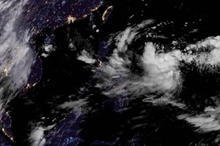 LPA off Visayas now tropical depression