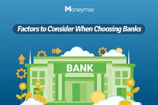 Things to consider when choosing banks