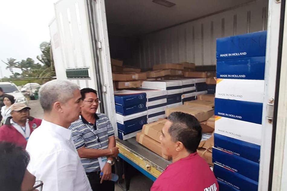 3 toneladang imported pork products, hinarang sa Bacolod 1