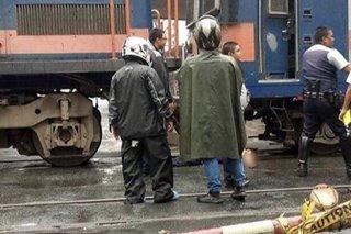 Lalaki sugatan nang mahagip ng tren ng PNR